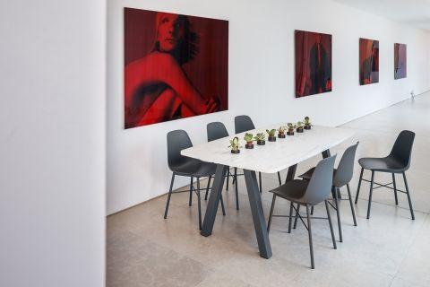 Ensemble De Sieges Et Table Veneto Perfecta Salle A Manger