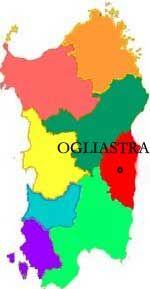 Ogliastra One of The New Italian Provinces in The Sardinia Italy