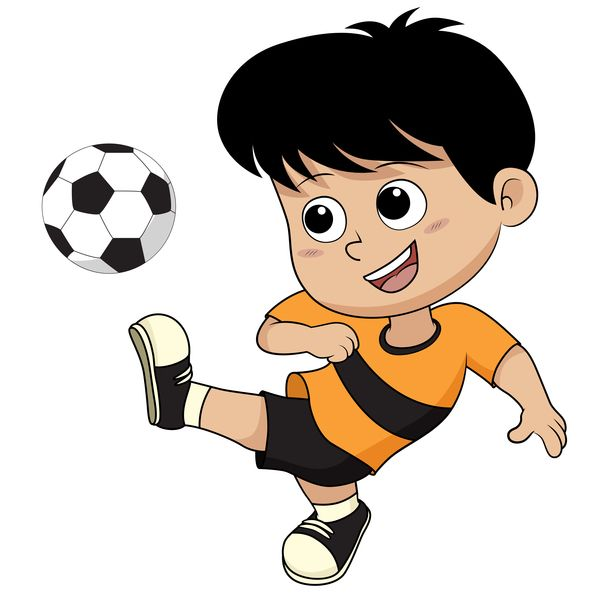 Free Eps File Cartoon Kid With Soccer Vectors 06 Download Name Cartoon Kid With Soccer Vectors 06 Files Source Go To Website Cartoon Kids Cartoon Chibi Boy