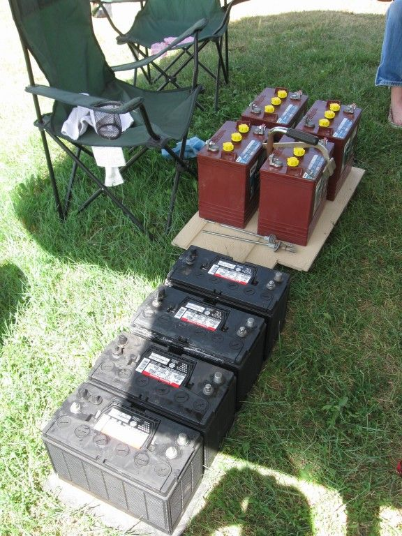 Nice Rv Battery Bank Upgrade 4 Trojan 6 Volt T 105 Re