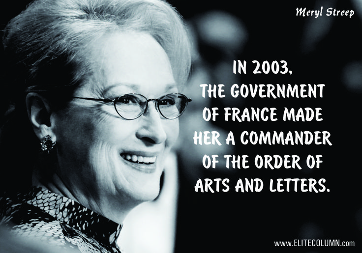 10 Obscenely Striking Facts About The Devil Who Wears Prada – Meryl Streep