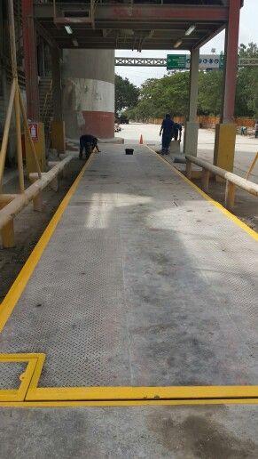 Balanza electronica CEMEX VENEZUELA