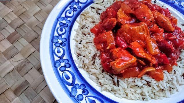 Kuchenne potyczki Alergiczki: Kurczak w sosie słodko-kwaśnym