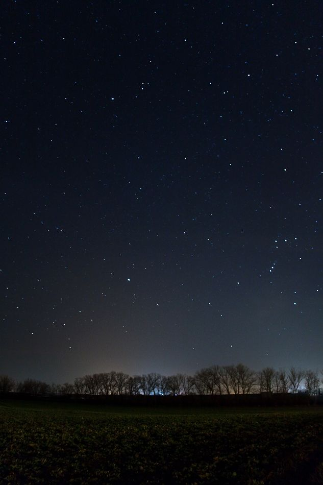 Day 17: Night: The night sky #stars #dark   Comments: @justjaneprentice Love the night sky from Rosewall