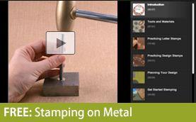 FREE: Stamping on Metal