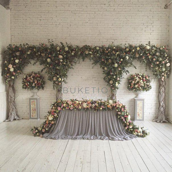 Top 25 Best Wedding Head Tables Ideas On Pinterest: Backdrop Decorations,Wall Images On Pinterest