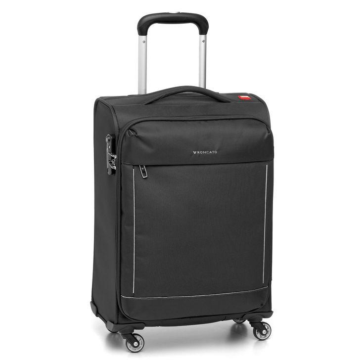 Mittelgroßer #Koffer Roncato Connection bei Koffermarkt: ✓leichtes Weichgepäck ✓4 Rollen ✓erweiterbares Volumen ✓schwarz ⇒Jetzt kaufen