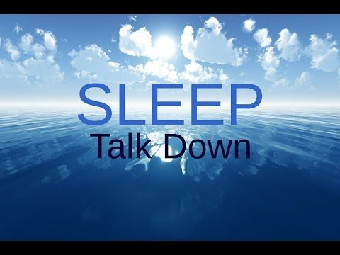 SPOKEN Sleep Talk Down: Meditation for healing, insomnia, relaxing sleep - YouTube