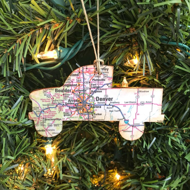 Personalized Truck Road Trip Ornament Pickup Truck
