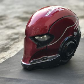 Red hood basic Arkham knight The Godofprops Studio never and not affiliated with or liscended by Marvel, DC, Disney or any other company. All props and costumes used on this site is used without permission, and all props and costumes produced by ALL DESIGN is intended as a fan representation only and is not intended to infringe upon any copyright. Cosplay helmet Red hood Basic from Batman arkham knight Character background : A new Red Hood appears in the Batman: Under the Hood storyline ...