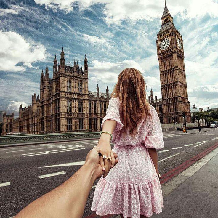 Follow me to... London - Photography by Murad Osmann
