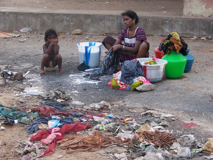 slums throughout the indian subcontinent composition with regard to kids
