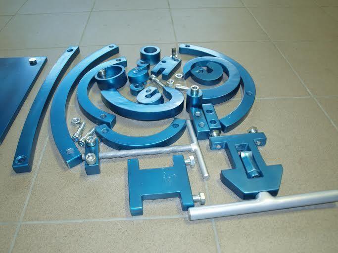 Universal bender - roller, scroll, bar and profile bender, ring roller, flat bar | eBay