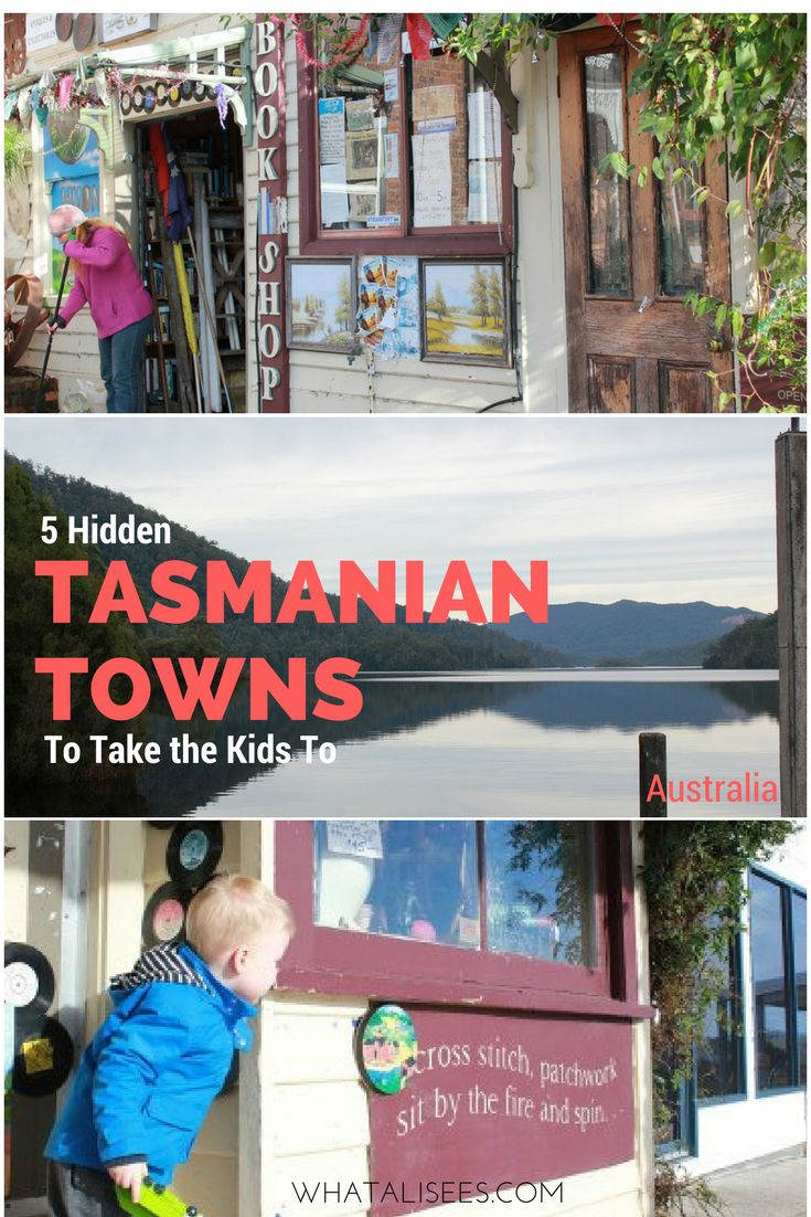 Visiting the western wilderness region and north west coast of Tassie? Take a journey to these unique Tasmanian towns your kids will love.