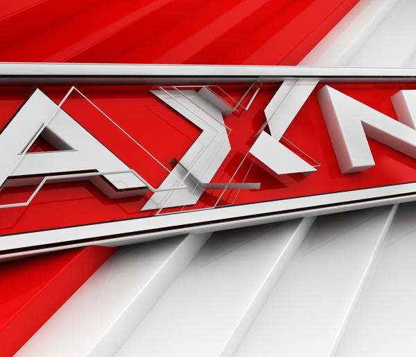 AXN: logotype render by Agencja Kreatywna Pompidou , via Behance
