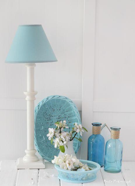 Wood&Crafts - kreatywne malowanie: Inspiracja kolorystyczna - odcienie niebieskiego