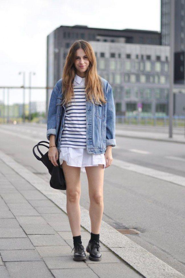 Jaquetão + camisa social e, voilà, um look em camadas perfeito! #comousarcamisasocial
