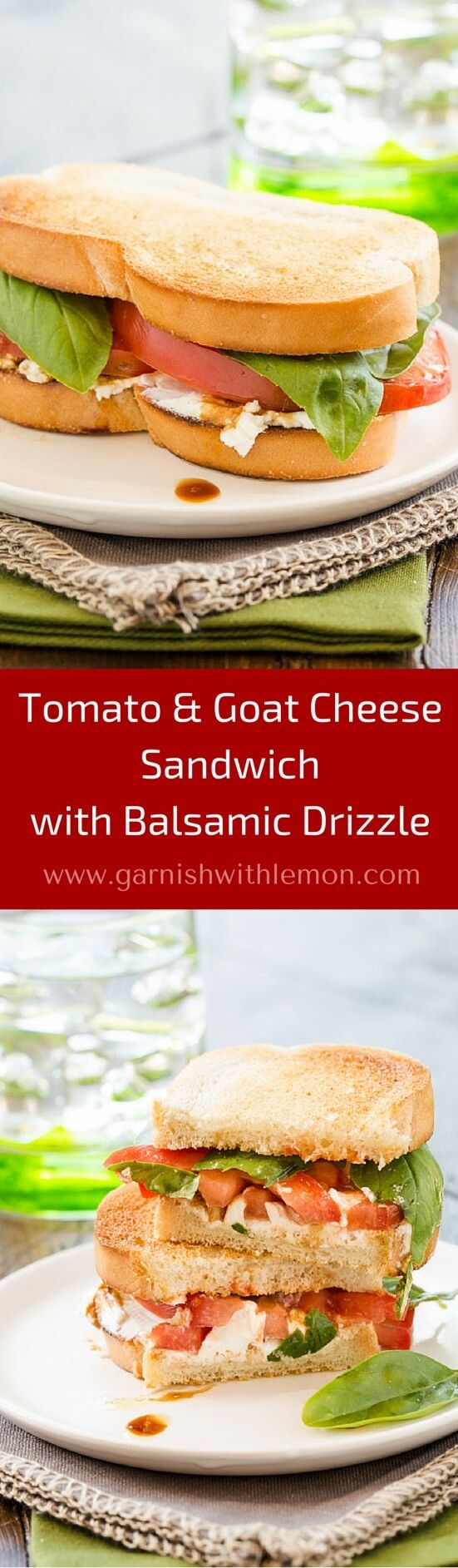 this quick and easy lunch idea. Our Tomato and Goat Cheese Sandwich ...