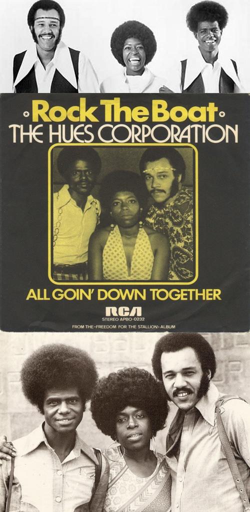"Hues Corporation ""Rock the Boat"" (1974)"