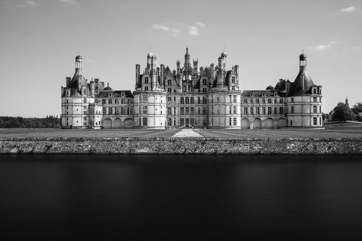 If you come visit France, make sure you do a castle tour! France has plenty! Here a long exposure (with ND10)  of the well known castle at Chambord which combines medieval structures with renaissance architecture.