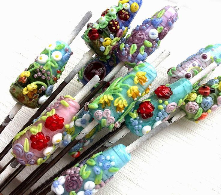 Maya-Honey Lampwork: Lampwork beads