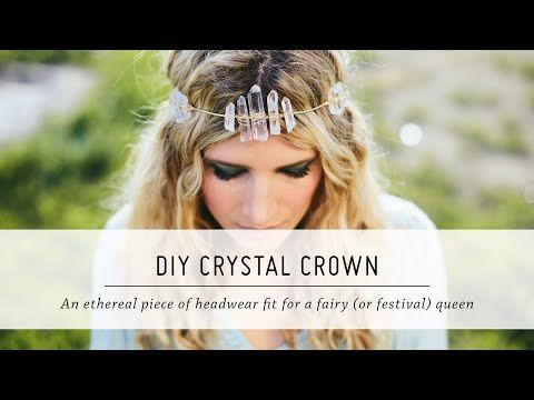 DIY Crystal Crown | Festival Fashion and Accessories | Spring Style | Mr Kate - YouTube