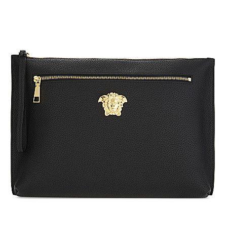 VERSACE Medusa Leather Clutch.  versace  bags  leather  clutch  hand bags   63e92a24e41f4
