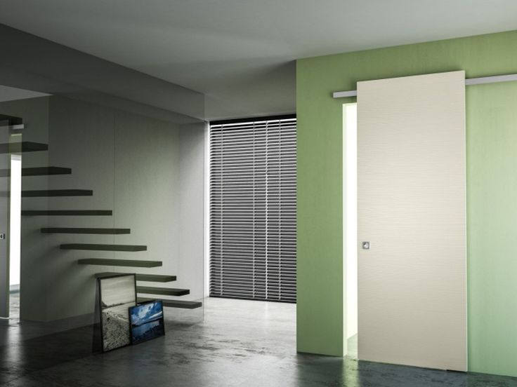 Pine sliding door without frame MINIMAL SOFT Scorrevoli special Collection by PIVATO