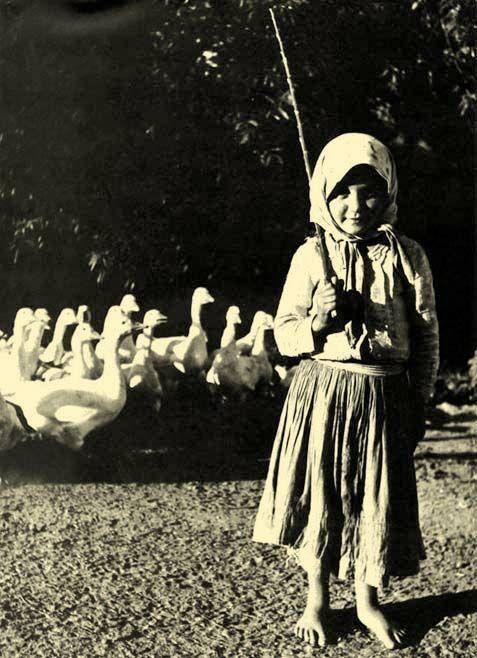 Libapásztor Nógrádban, 1930 körül.
