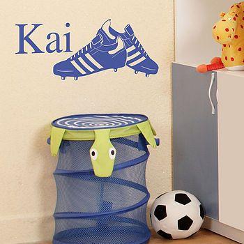 personalised football sticker