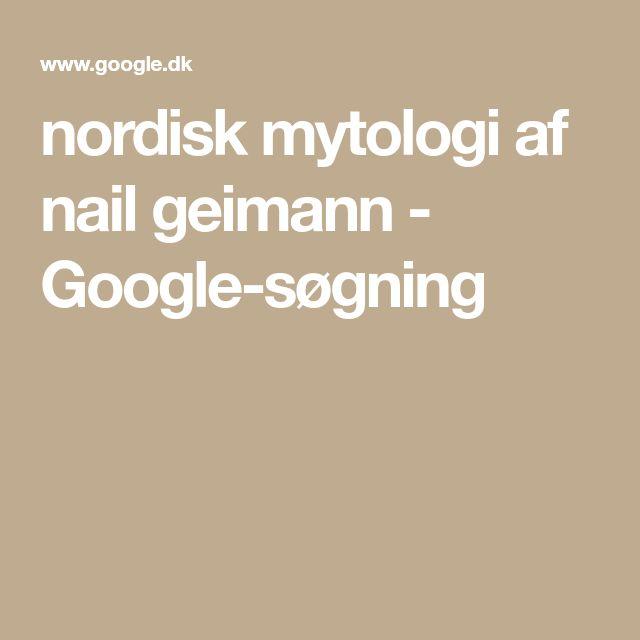 nordisk mytologi af nail geimann - Google-søgning
