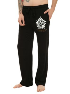 Supernatural Men's Pajama Pants -- Idc if these are guys. I want them. Like. Now.