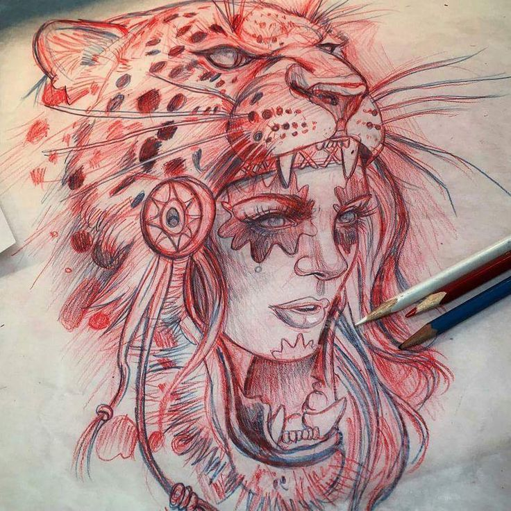 Leopard hood girl