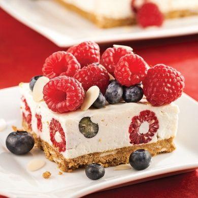 Délices au fromage à la crème et petits fruits - Recettes - Cuisine et nutrition - Pratico Pratiques