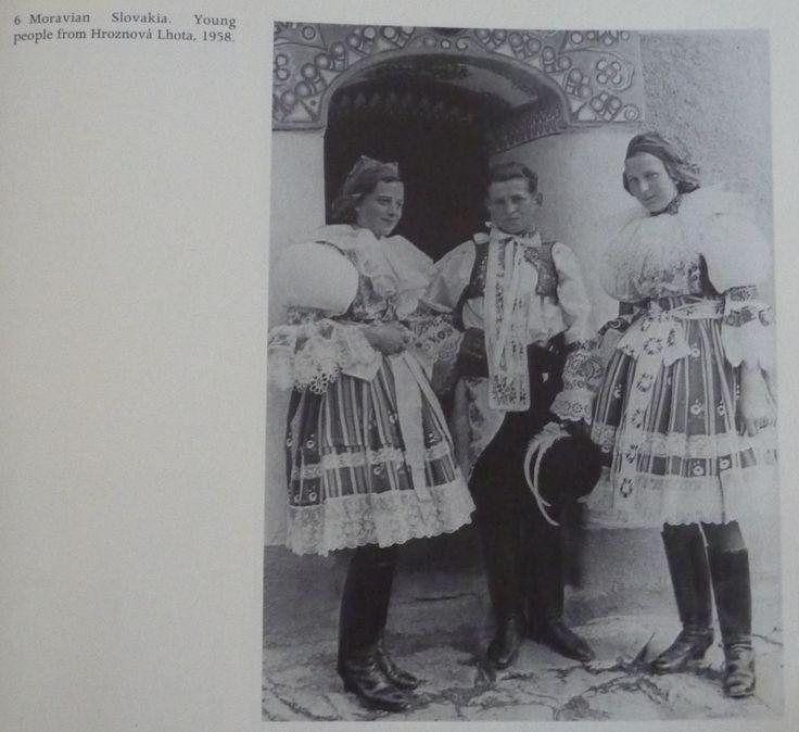"Hroznova Lhota From ""The folk dress of Europe"" by James Snowden."