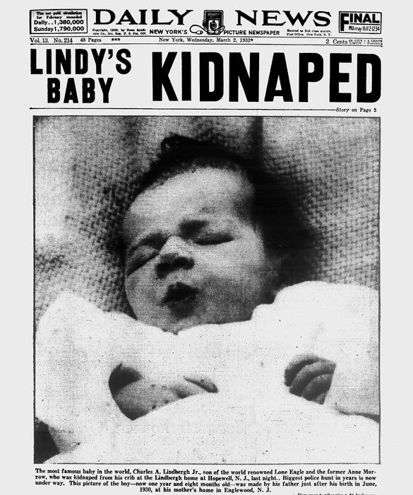 lindbergh baby | The Lindbergh Baby: Most Famous Babies in History - mom.me