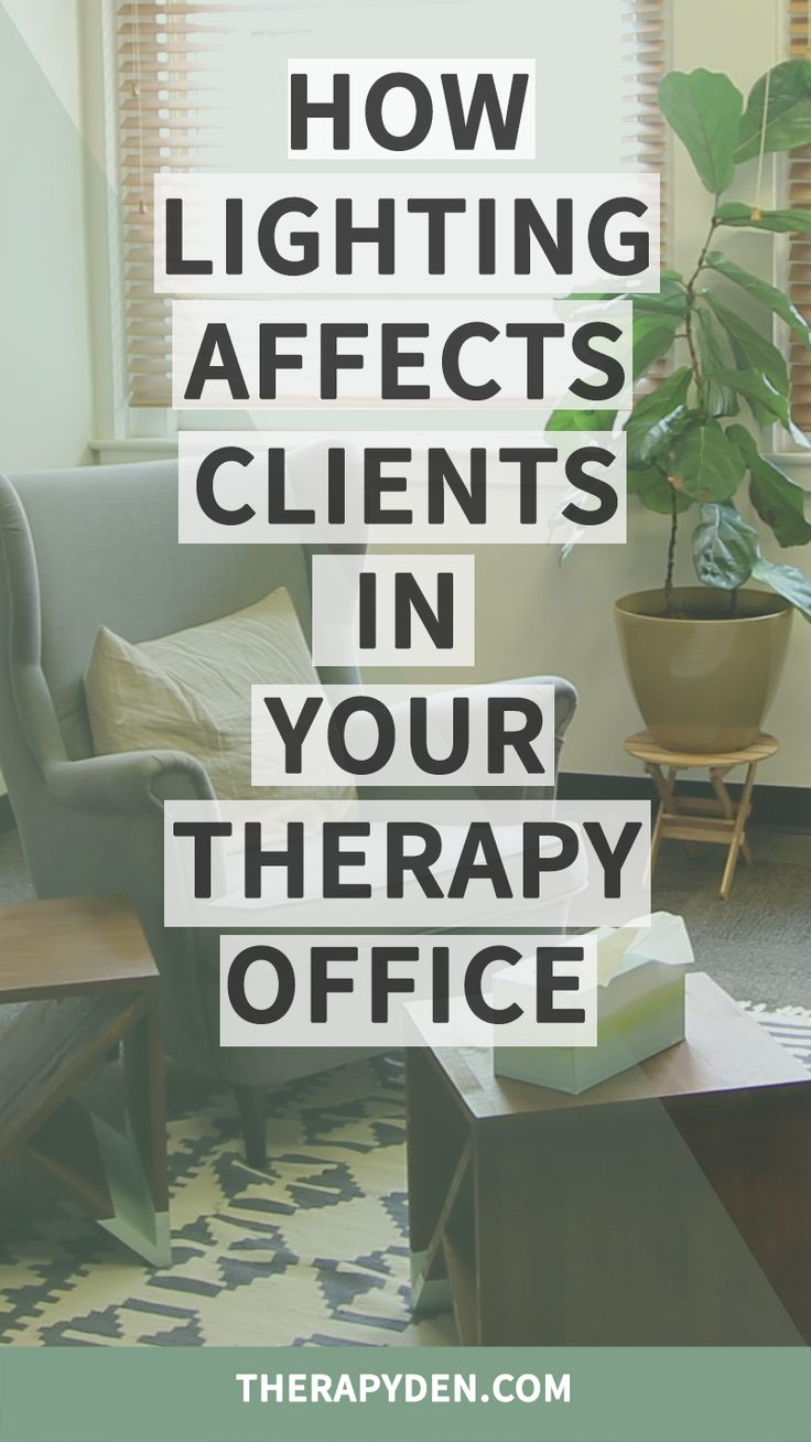 Find out the best way to light your therapy office to create the most optimal environment for honest and vulnerable conversation.