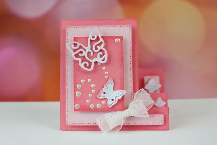 Essentials Mini Stepper Card (ETL44) | Tattered Lace