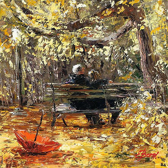 Russian painter Елена Бонд was born in Russia in the beautiful old city of Samara to a military doctor and a classical pianist. Elena started drawing at a very early age, using everything from a pencil to her mother's make-up. She came from a family of artists where her great-grandfather and grandfather were both artists.