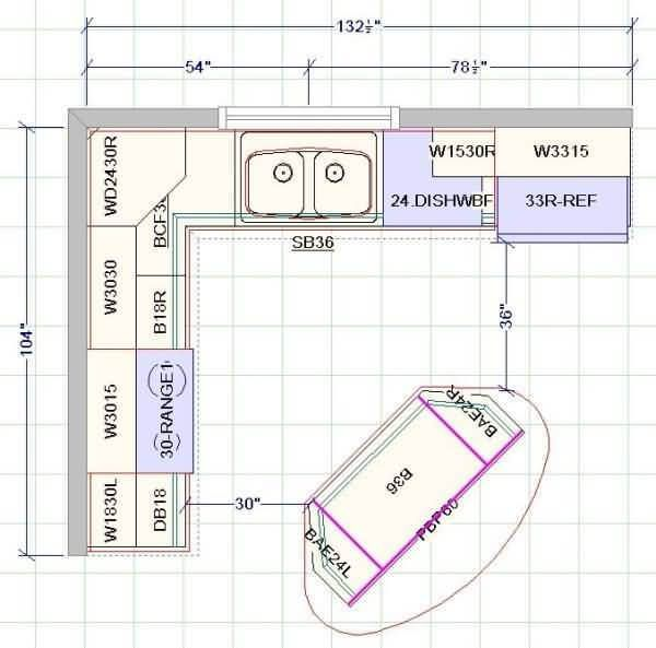 Standard Kitchen Dimensions And Layout Engineering Discoveries Kitchen Layout Plans Kitchen Floor Plans Kitchen Plans