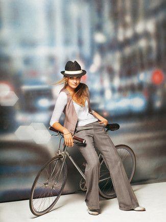 Schnittmuster: Marlene-Hose - Schlag - Bügelfalte  - Marlenehosen - Hosen - Damen - burda style