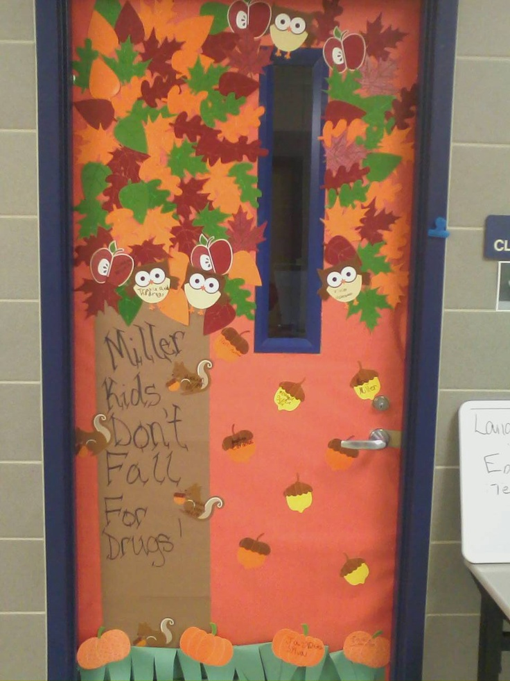 Kids Don T Fall For Drugs Red Ribbon Week Decorating