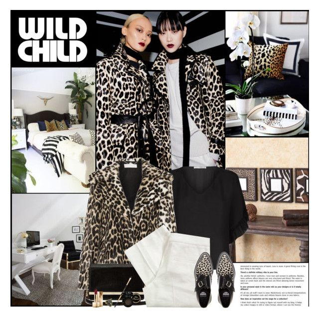 """Wild Child"" by kittyfantastica ❤ liked on Polyvore featuring Etro, STELLA McCARTNEY, Diane Von Furstenberg, Joseph, Underground, Burberry, Fantasy Jewelry Box and Too Faced Cosmetics"