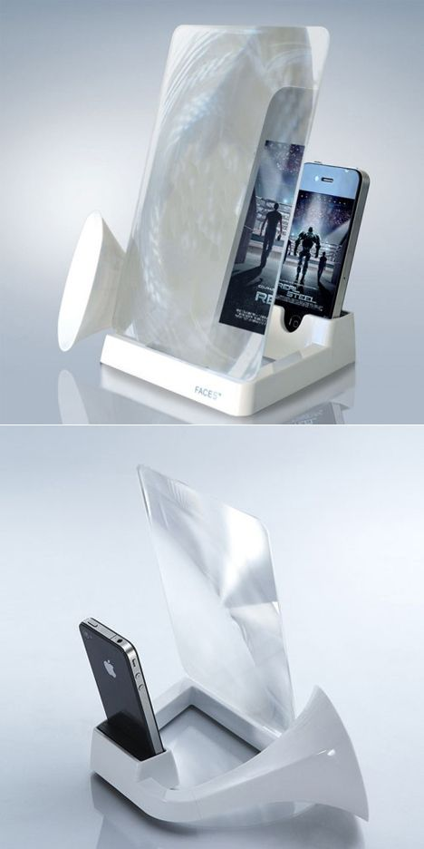 Mini cinema for iPhone. Love this, good thing for mommy and the family.