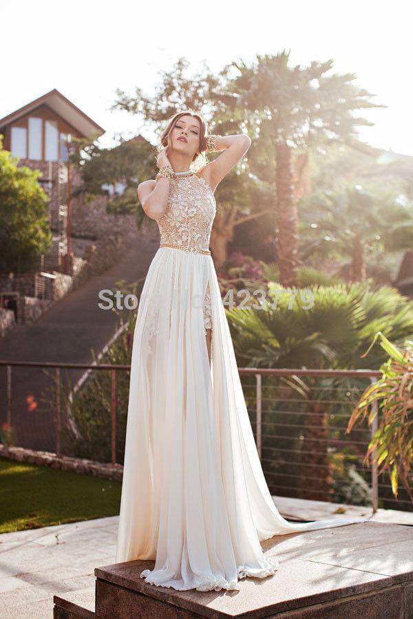 Summer dress boho engagement