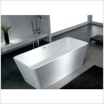 Sterling Rectangular Free Standing Bath in Gloss