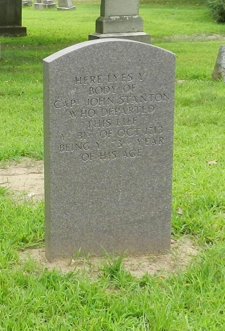 capt john stanton 1641 1713 find a grave photos