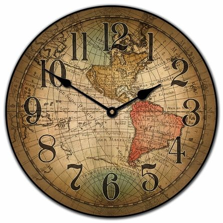 Traveling the world takes time!