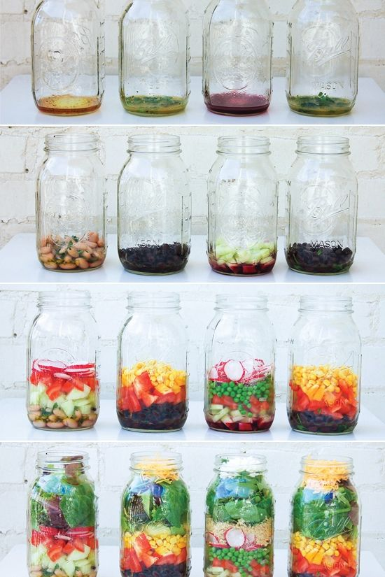 The ultimate guide to the perfect mason jar salad
