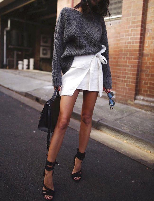 Toujours ajouter une touche cosy à ses tenues sexy ! (photo Andy Csinger)